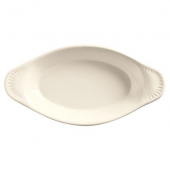 World Tableware - Bedrock Ovenware Welsh Rarebit, 12 oz Cream White Porcelain