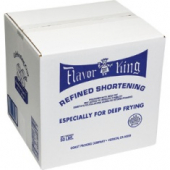 Flavor King Shortening, Blue (Beef Fat), For Deep Frying
