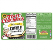Tony Chachere's - Original Creole Seasoning, 50 Lb