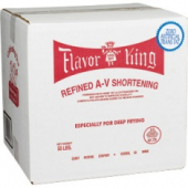 Flavor King Shortening, Red (Refined A-V), For Deep Frying