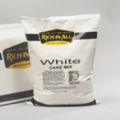 Rich-In-All - White Cake Mix, 50 Lb