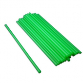 "Wrapped Straw, 7.75"" Giant Lime Green"