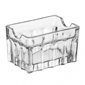"Libbey - Sugar Packet Holder, 3.5"" Clear Glass"