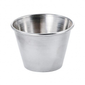 Winco - Sauce Cup, 2.5 oz Stainless Steel