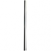 "Unwrapped Straw, 10"" Jumbo Black"