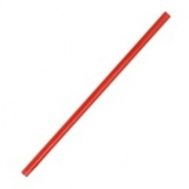 "Unwrapped Straw, 10.5"" Giant Red"