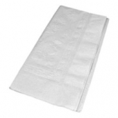 Dinner Napkin, 2-Ply White 1/8 fold, 15x17