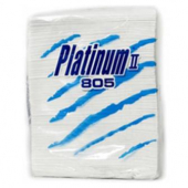 Platinum II Dinner Napkins, 2-Ply White, 15x16.25