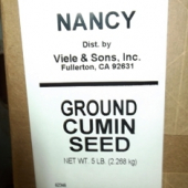 Nancy Brand - Cumin Seed, Ground, 5 LB