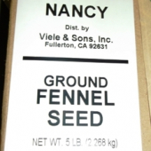 Nancy Brand - Fennel Seed, Ground, 5 Lb