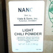 Nancy Brand - Chili Powder, Light, 5 Lb
