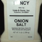 Nancy Brand - Onion Salt, 5 Lb