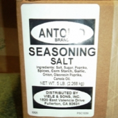 Antonio Brand - Seasoned Salt, 5 Lb