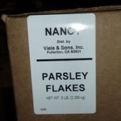 Nancy Brand - Parsley Flakes, Whole, 5 Lb