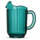 Vollrath - Traex Tuffex Beverage Pitcher with 3 Spouts, 60 oz Margarita Green