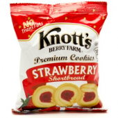 Knott's Berry Farm - Strawberry Shortbread Cookies