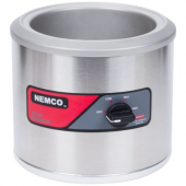 Nemco - Countertop Food Warmer, 7 Qt Stainless Steel, 120V, 550W