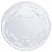 Dart - Lid, Clear PET Plastic Cold Drink Non-Vented Lid, Fits TP9 and TP10