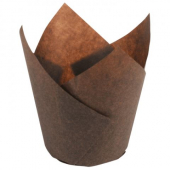 Tulip Baking Cups, Large, Chocolate Brown, 2.25x2.75