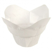 Hoffmaster - Lotus Baking Cups, Small White, 1.25x2.25