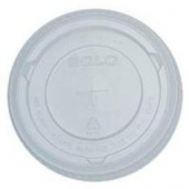 Dart - Lid, Clear PET Plastic Cold Drink Lid with Straw Slot, Fits 32 oz cups