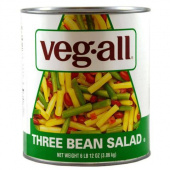 Veg-All - Three Bean Salad, 6/10