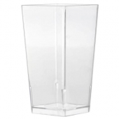 Fineline Settings - Tiny Tempations Tumbler, 1.6x3.25 Clear Plastic, 3 oz