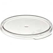 Cambro - Camwear Rounds Food Storage Container Lid, Clear PC Plastic, Fits 2/4 qt Containers