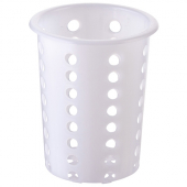 "Winco - Flatware Cylinder, Perforated Plastic, Fits 4"" Diameter Hole"