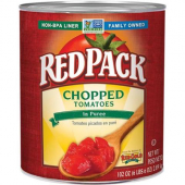 RedPack - Chopped Tomatoes, Ready Cut in Tomato Puree