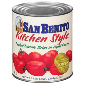 "San Benito - Diced Tomatoes (1"") in Heavy Puree"