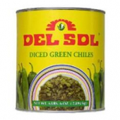Del Sol - Diced Green Chile