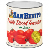San Benito - Diced Tomatoes in Juice