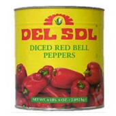 Del Sol - Diced Red Bell Peppers
