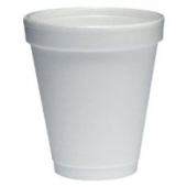 "Dart - Foam Cup, White, 6 oz, 3.3"" Height"