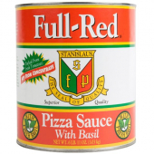 Stanislaus - Full-Red Pizza Sauce with Basil