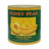 Glory Star - Sliced Peaches in Light Sauce
