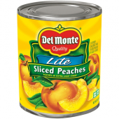 Del Monte - Sliced Peaches in Extra Light Syrup, 6/29 oz