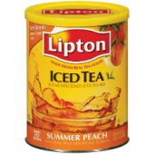 Lipton - Summer Peach Tea with Sugar