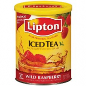 Lipton - Raspberry Tea with Sugar