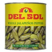 Del Sol - Whole Jalapeno Escabeche