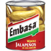 Embasa - Whole Jalapenos, 6/10
