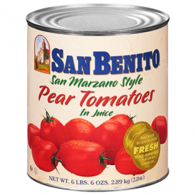 San Benito - Whole Peeled Pear Tomatoes in Juice