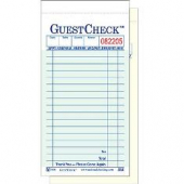 Guestcheck Carbonless, 2 Part Green, 17 Lines, 3.5x7, 50/50