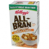 Kellogg's - All-Bran Complete Wheat Bran Flakes Cereal Individual Pack