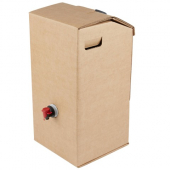 LBP - Beverage/Coffee Dispenser, 3 Gallon Kraft Corrugated