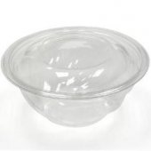 Pactiv - Swirl Bowl with Lid, 24 oz Clear Plastic