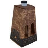 Beverage/Coffee Carafe, Corrugated, Holds up to 96 oz, 24x21x12