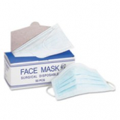 Face Mask with Elastic Ear Loop, Disposable