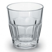 Encore - Elite Rocks Tumbler, 5.5 oz Clear Plastic
